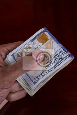 Hand voll Geld 100's