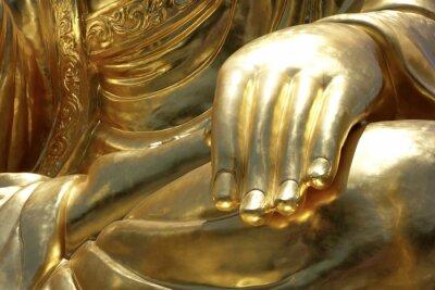 Fototapete Hand von Buddha