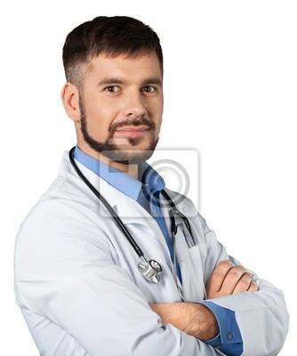 Handsome Arzt Porträt