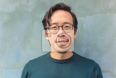 Fototapete Handsome Asian guy