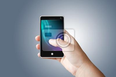 Handy mit Touchscreen