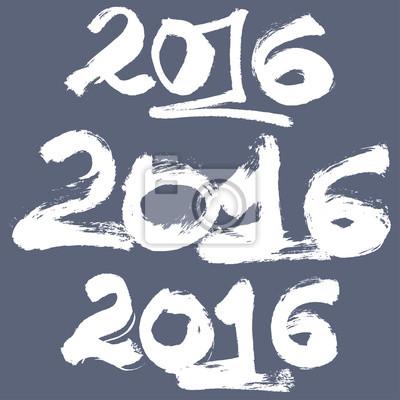 Happy New Year 2016 Feier Hintergrund gesetzt.