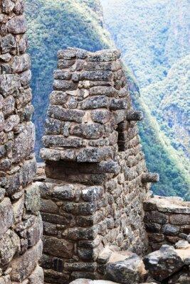 Fototapete Haus in der Stadt Machu Picchu