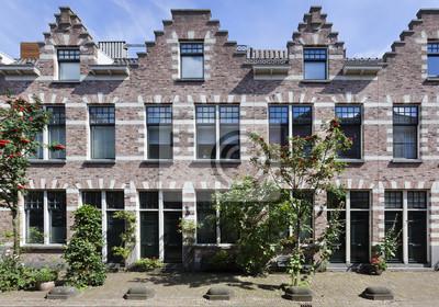 Häuser Im Landhausstil In Rotterdam Kralingen Fototapete