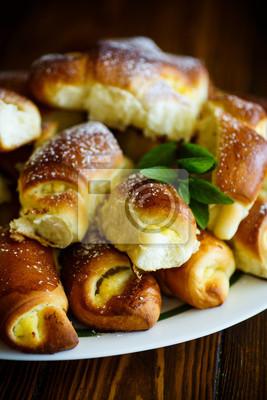 Hausgemachte Kuchen Mit Frischkase Fototapete Fototapeten