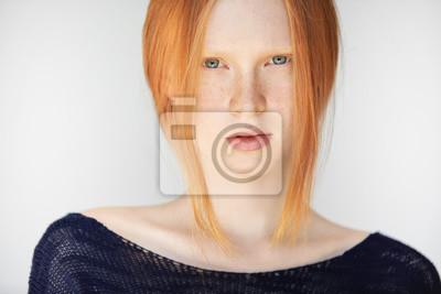 Haare augen rotblonde weiblich blaue Typberatung Damen