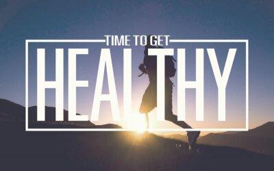 Fototapete Healthy Fit Diet Activity Sport Lifestyle Purpose Concept