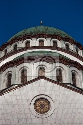 Heiligen Sava-Kirche in Belgrad