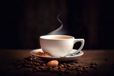 Fototapete heißer, frischer Kaffee
