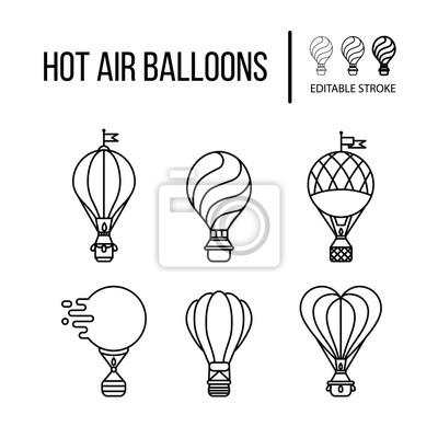 Beste Heißluftballon Vorlage Bilder - Beispiel Anschreiben für ...