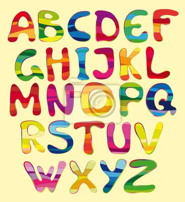 heiter Alphabet