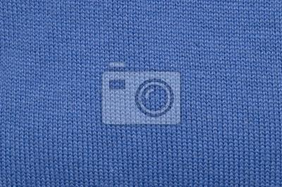 Hellblau Stoff Textur Die Textur Des Stoffes Machte Häkeln
