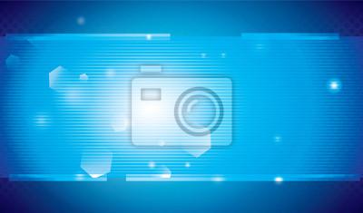 Fototapete Hellblauen Hintergrund. Technologie.