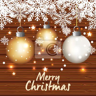 Karte Frohe Weihnachten.Fototapete Helle Frohe Weihnachten Karte Vektor Illustration Design