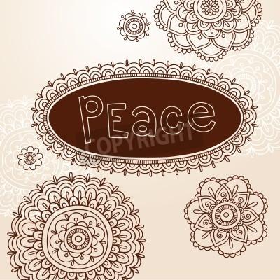 Henna Frame And Mehndi Flower Tattoo Mandala Design Elements