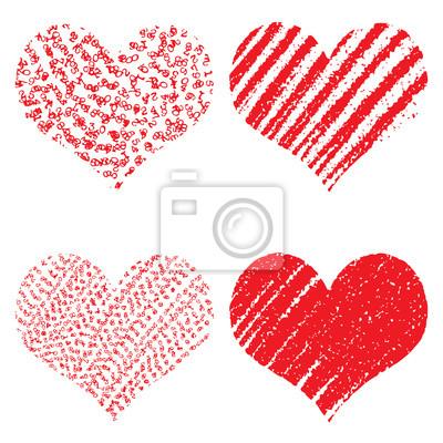 Fein Valentine Herzen Zu Färben Bilder - Ideen färben - blsbooks.com