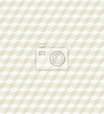 Hexagon 3D Gold Pattern Vector Illustration
