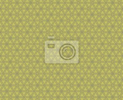 Hexagon-Stern-Muster Vektor-Illustration