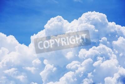 Fototapete High Detail Wolke am blauen Himmel Hintergrund