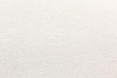 Fototapete highly-textured white watercolor paper. paper texture for artwork