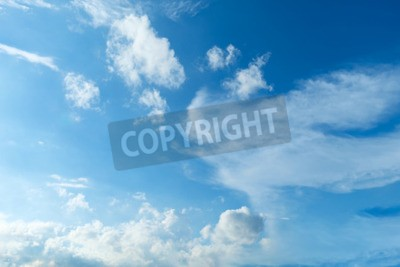 Fototapete Himmel, Der blaue Himmel