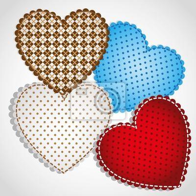 Hintergrund der Herzen