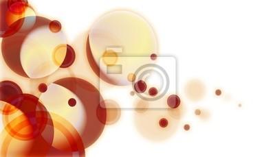 Fototapete Hintergrund der Kreise