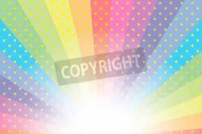 Hintergrundmaterial Hintergrundbild Regenbogen