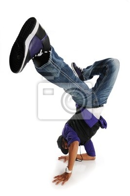 Hip Hop Stil Tänzerin
