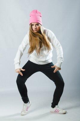 Fototapete Hip-Hop-Tänzer