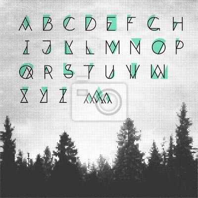 Hipster Alphabet