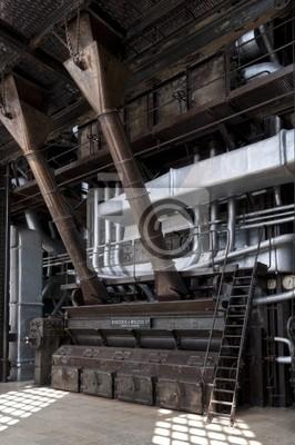 Hochdruckkessel kohlekraftwerk zur stromerzeugung fototapete ...