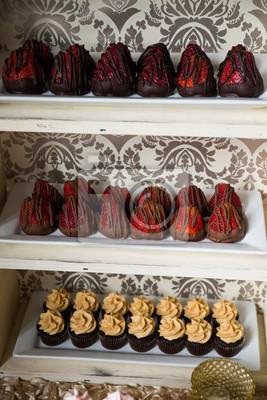 Hochzeit Dessert Kuchen Zuckerguss Lecker Essen Veranstaltung