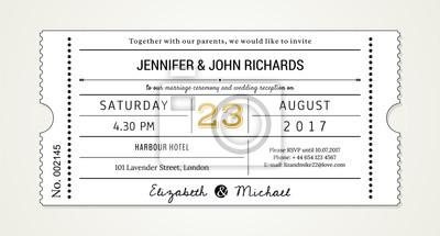 Fototapete Hochzeit Einladung Pt.1 Vorlage   Einladung (mit Verwendeten  Schriftarten In Der Datei