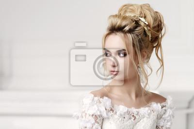 Fototapete Hochzeit Make Up Und Frisur
