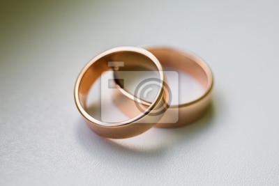 Hochzeit Ringe Auf Einem Weissen Hintergrund Hochzeit Bands