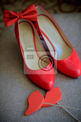 Hochzeit roten schuhe fototapete • fototapeten High Heel, Clipping ... 0094f10893