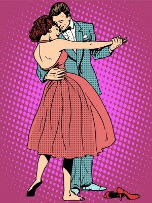 Fototapete Hochzeit Tanzliebhaber Mann und Frau