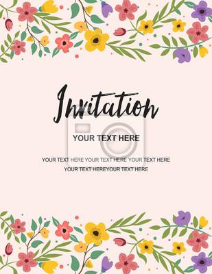 Hochzeits-party und jahrestags-einladungs-karte retro schablone ...