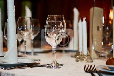 Hochzeits Tisch Mittelstucke Glaser Kerzen Serviertafel