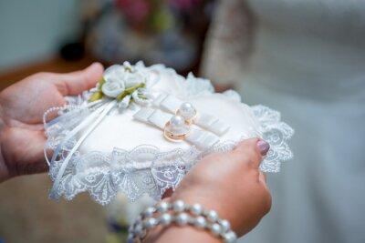 Hochzeitsringe Und Blumen Fototapete Fototapeten Sphagnum