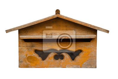 Holz Briefkasten Fototapete Fototapeten Briefkasten Briefkasten