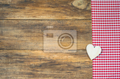 Fototapete Holz Herz Liebe Romantisch Rustikal