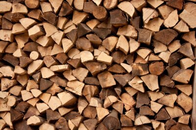 Holz-Logs