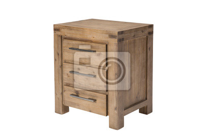 Holz Nachttisch holz nachttisch fototapete • fototapeten | myloview.de