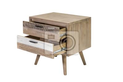Holz Nachttisch holz nachttisch fototapete • fototapeten esszimmer, antike, vintage