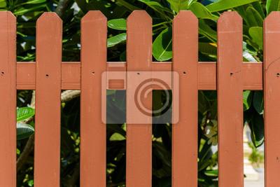 Holz Und Metall Zaun Des Wohnhauses Fototapete Fototapeten