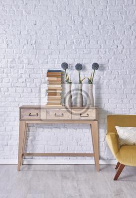 dekoration bcher trendy bcher dekoration im wohnzimmer interieur foto von mrsiraphol with. Black Bedroom Furniture Sets. Home Design Ideas