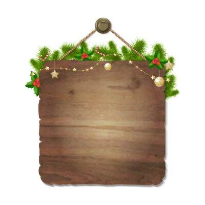 Hölzernes Weihnachten singen