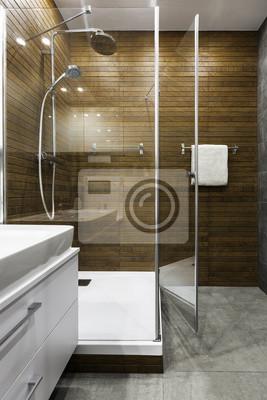 Holzwand Im Badezimmer Fototapete Fototapeten Privies Appartment